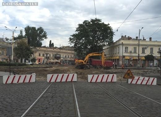 C 1 октября временно закроют движение транспорта на участке улицы Преображенской