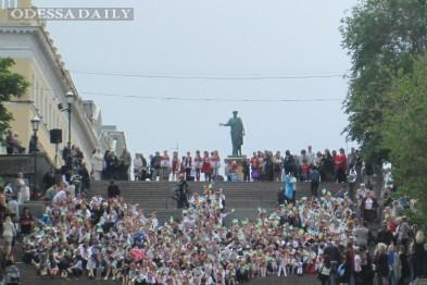 В Одессе начинают ремонт Потемкинской лестницы
