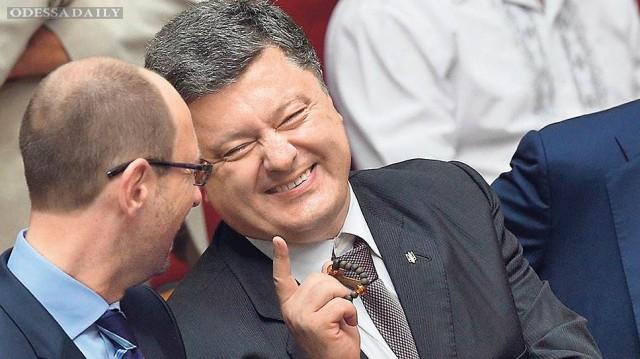 БПП и НФ договорились о коалиции, Яценюк останется премьером – СМИ