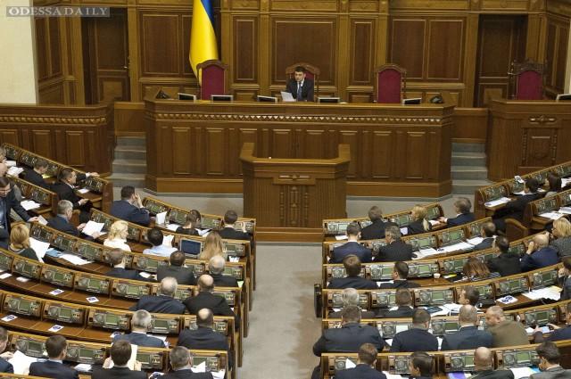 Рада отказывается рассматривать сегодня законопроекты Кабмина