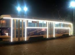 Работа транспорта в Одессе в Новогоднюю ночь