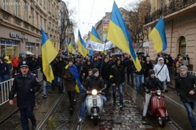 В Украине за день протестующие захватили пять ОГА