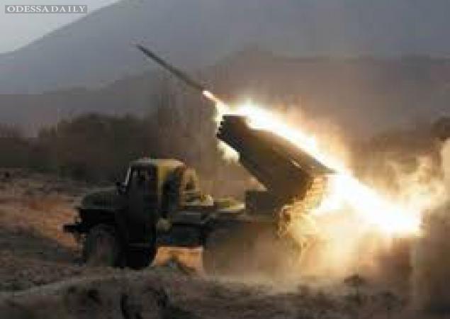 Сводка «ИС»: террористы обстреляли позиции сил АТО из танков и РСЗО «Град»