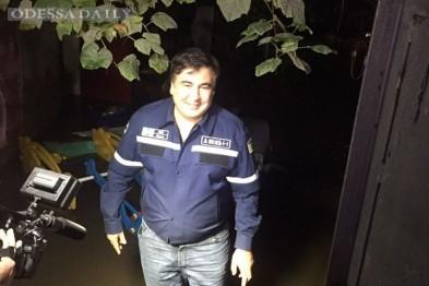 Саакашвили упрекнул Труханова за проблему с ливневками