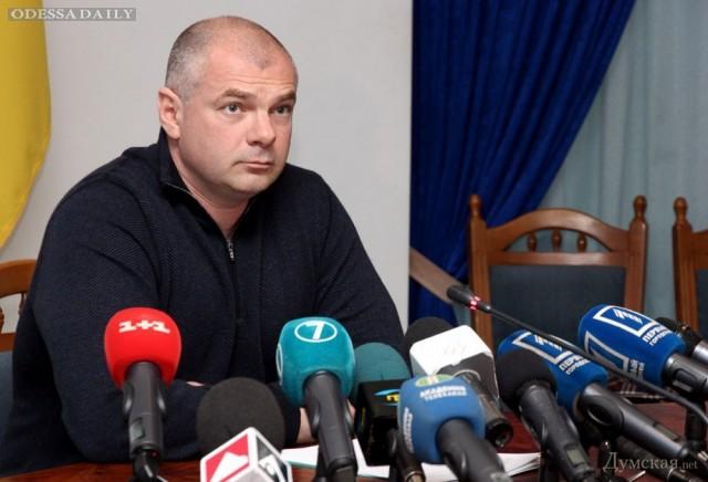 Одесский губернатор: о нефти, «проплаченных акциях» и Приднестровье