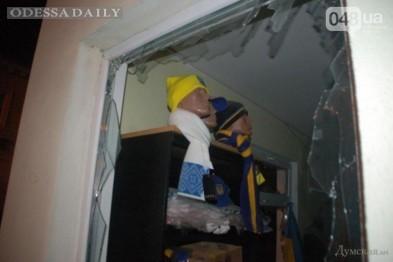 В Одессе устанавливают личность террориста, установившего бомбу в окне магазина
