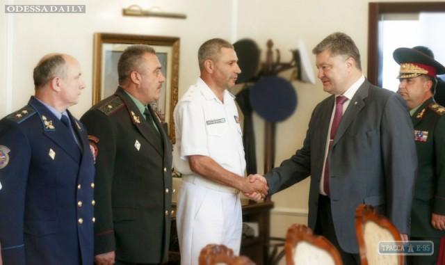 Порошенко назначил командующего ВМС Украины