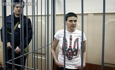 В РФ запретили фотографировать Савченко на судилище в Ростове