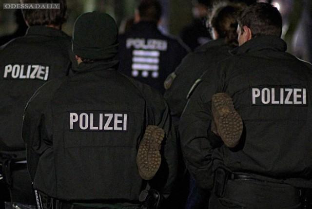 Колонну «Ночных волков» заблокировала полиция Германии. Происходит задержание