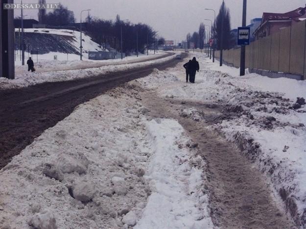 Какая ситуация на дорогах в Одессе 2 января