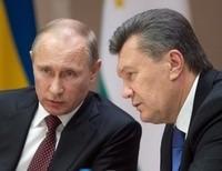 Янукович и Путин коротко поговорили о важном