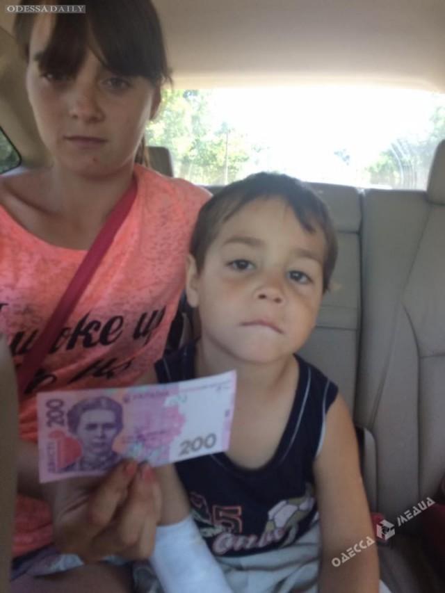 В Одессе пропала женщина с маленьким сыном