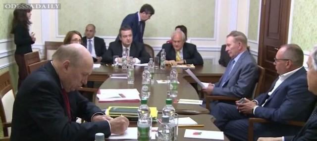 Сегодня Трехсторонняя контактная группа по Донбассу встретится в Минске