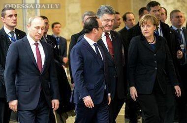 Перед Новым годом Порошенко, Меркель, Олланд и Путин обсудят ситуацию на Донбассе – источник