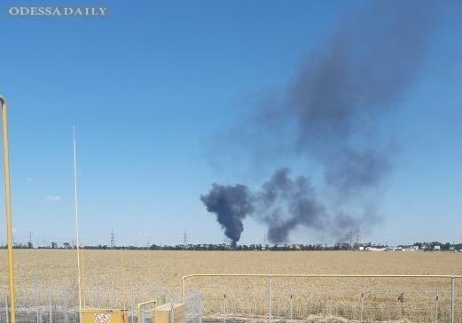 Под Одессой произошел масштабный пожар на нефтебазе: есть пострадавшие