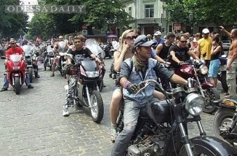 Завтра в Одессе парад байкеров