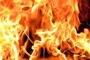 Отопительная печь привела к пожару