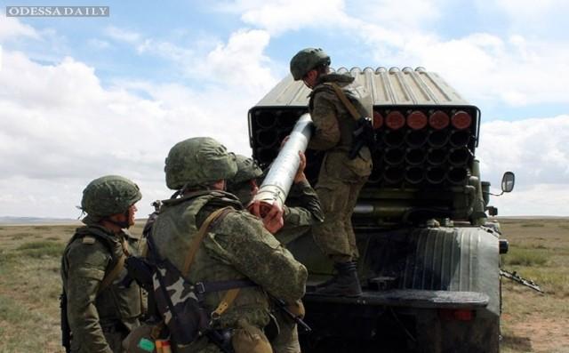 Россия остановила вывод войск из Украины, - СНБО