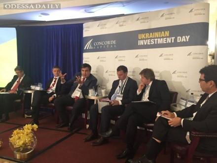 Саакашвили убеждал инвесторов в США, что Украина – это Китай Европы