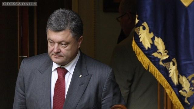 Порошенко заявил о готовности к переговорам по Донбассу