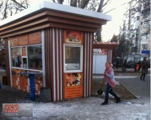 Одесских предпринимателей оштрафуют за неубранный возле магазинов снег