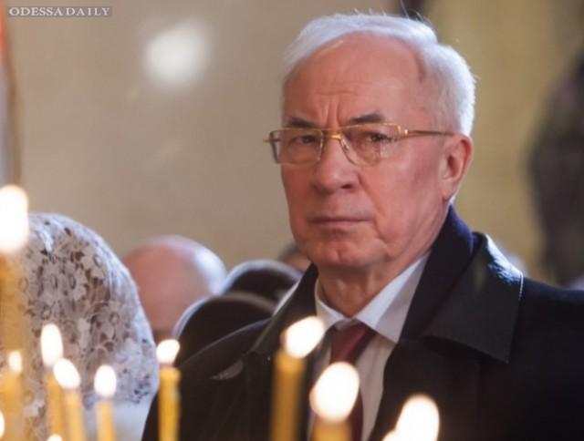 Азаров попал под новые санкции США, - СМИ