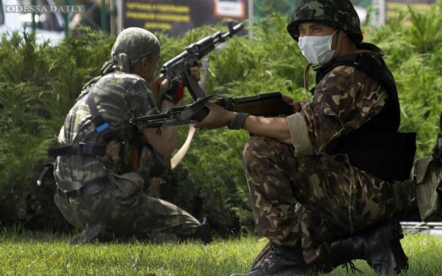 Операция по антитеррору: последние события в Донбассе - 03
