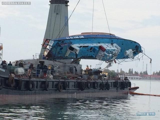 Местные жители нашли в Затоке еще одну жертву затонувшего катера Иволга