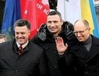 Майдан отправил лидеров оппозиции на переговоры с Януковичем