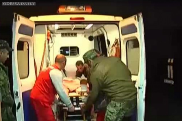 Освобожденные из плена бойцы ранены, один из них - тяжело