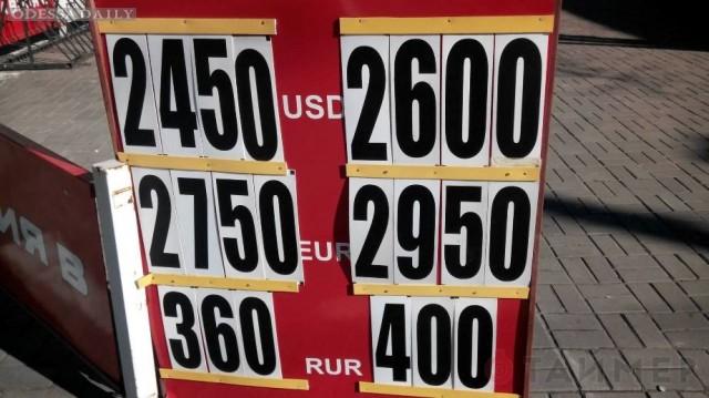 Курс доллара в Одессе: валютчики скидывают, банки поднимают