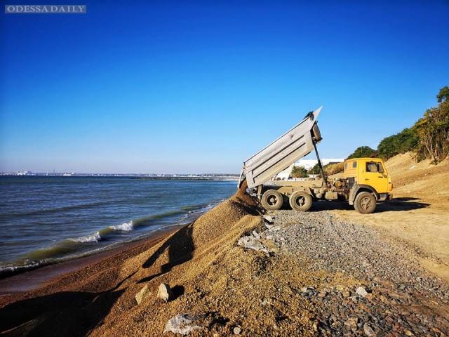 Виталий Оплачко: Как надо строить пляж - как в Крыжановке. Мнение
