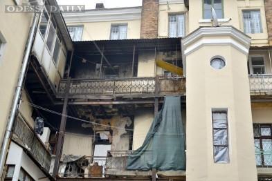 Одесские коммунальщики отказали в помощи пострадавшим на пожаре