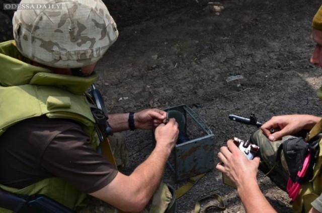 Нидерланды помогут Украине деньгами на разминирование Донбасса