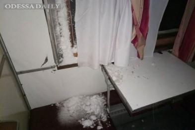 Жесть: В одесском поезде заметал снег и не таял