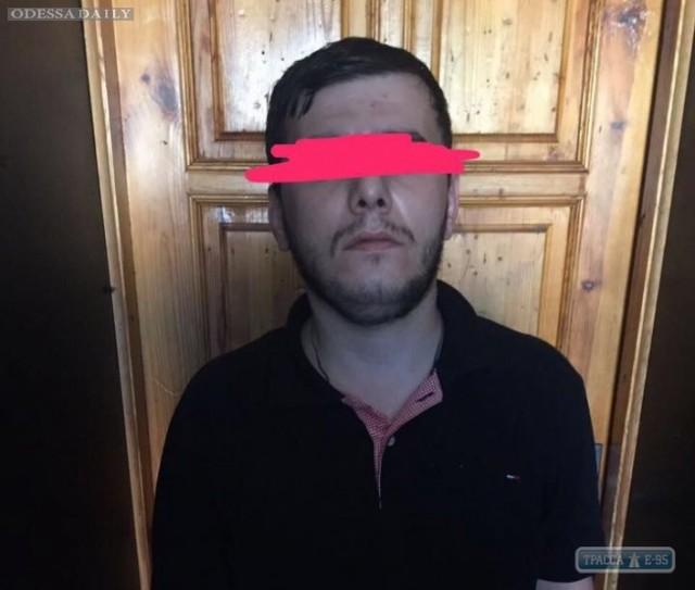 Полиция задержала очередного криминального авторитета в Одессе