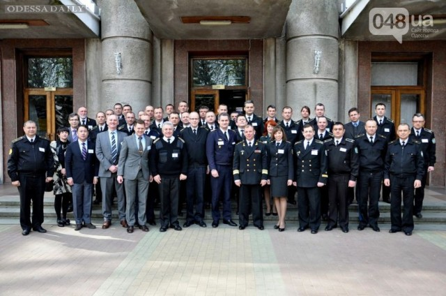 В Одессе военные моряки представили новую концепцию ВМС Украины (ФОТО)