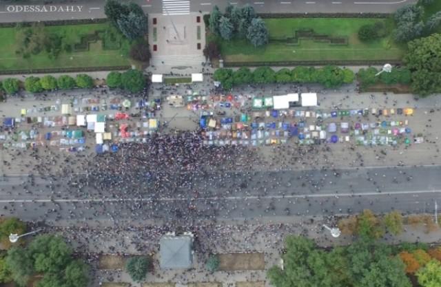 В Кишиневе новая волна протестов, на улицы вышло более 15 тыс. людей