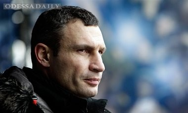 Партия УДАР выдвинула Кличко кандидатом на пост мэра Киева
