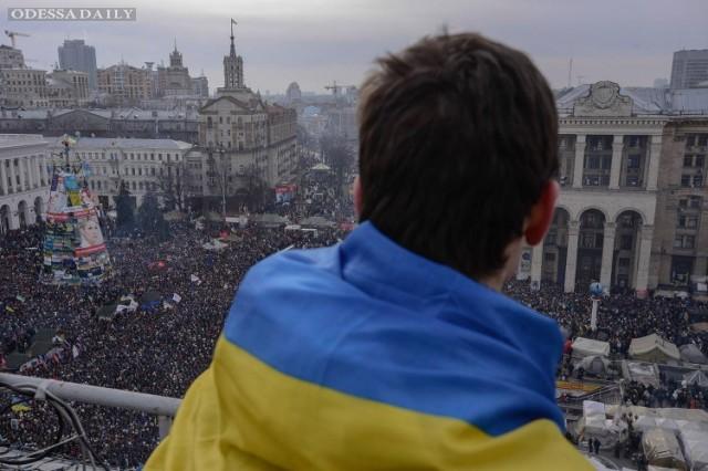Андрей Парубий принял участие вцеремонии чествования памяти Героев Небесной Сотни