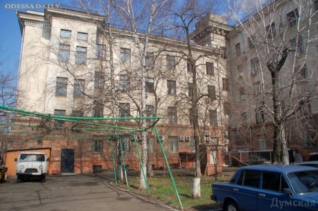 Одесский Дом профсоюзов может стать госпиталем для инвалидов
