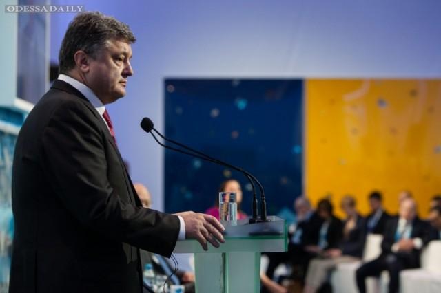 Порошенко назвал План Мореля частным мнением (полное видео интервью)