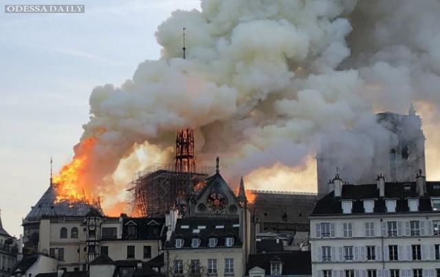 Пожертвования на реконструкцию Нотр-Дам де Пари превысили 1 млрд евро