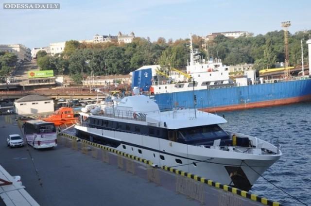 Одесский порт посетил мальтийский круизный лайнер