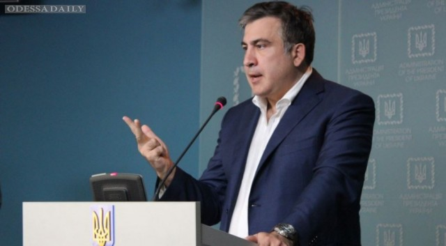 Саакашвили пообещал за 100 дней победить контрабанду в Одессе