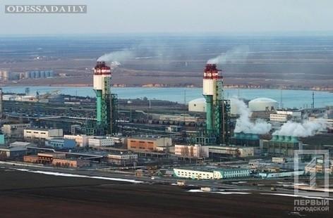 Цеха Одесского припортового завода остановлены
