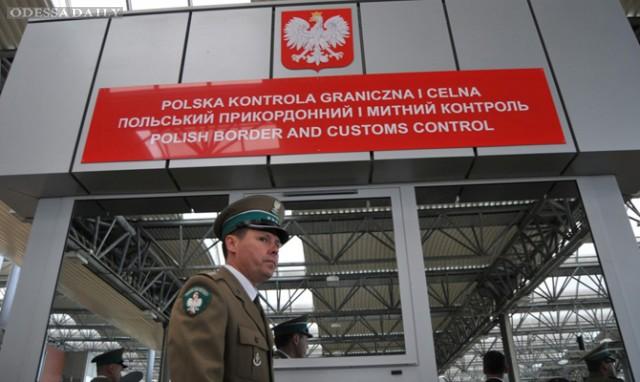 Украина ожидает восстановления приграничного движения с Польшей