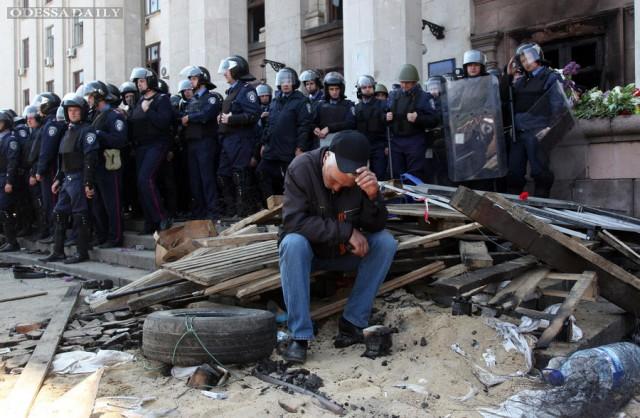 Одесская милиция не уверена в причинах смерти более 20 человек 2 мая