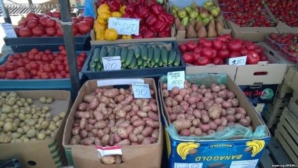 Цены на продукты в Крыму выросли до уровня Лондона и Токио