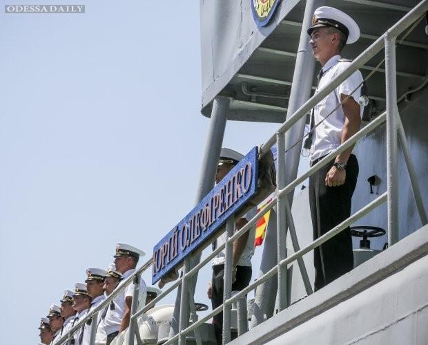 Именем погибшего Героя АТО назвали украинский военный корабль